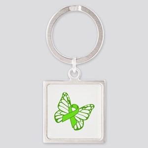 Lymphoma Butterfly Keychains