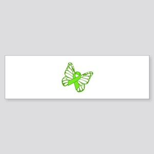 Lymphoma Butterfly Bumper Sticker
