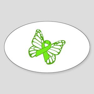 Lymphoma Butterfly Sticker