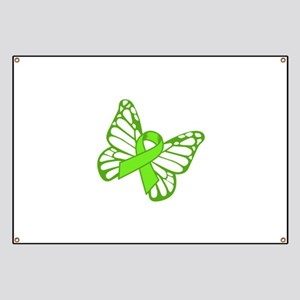 Lymphoma Butterfly Banner