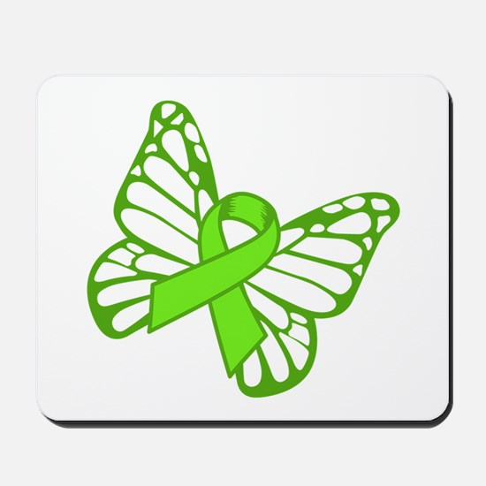 Lymphoma Butterfly Mousepad