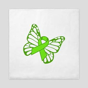 Lymphoma Butterfly Queen Duvet
