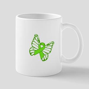 Lymphoma Butterfly Mugs