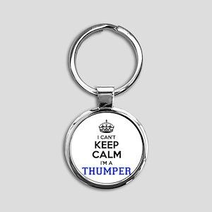 I can't keep calm Im THUMPER Keychains