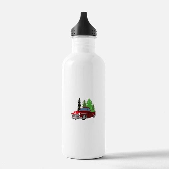 Vintage Truck Water Bottle