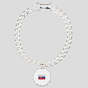 Flag Of Slovakia Bracelet