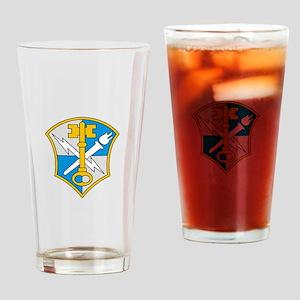 US Military Intelligence Drinking Glass