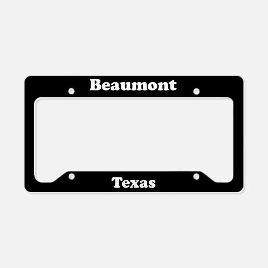 Beaumont TX License Plate Holder