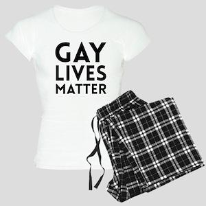 Gay lives matter pajamas