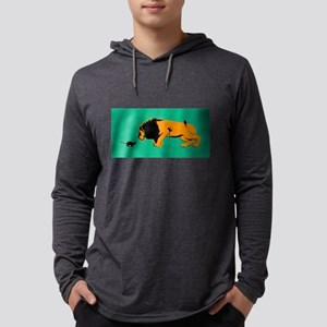 Cat Versus Lion Ready to F Long Sleeve T-Shirt