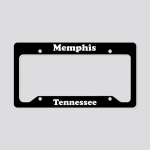 Memphis TN License Plate Holder