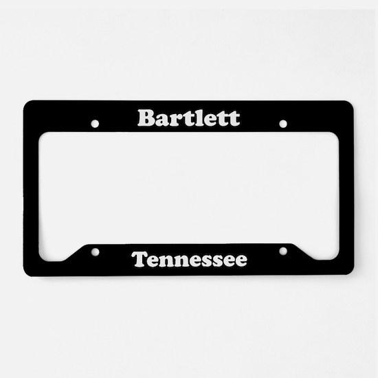 Bartlett TN License Plate Holder