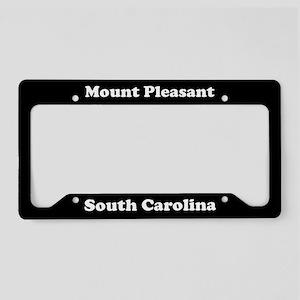 Mount Pleasant SC License Plate Holder