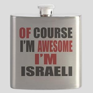 Of Course I Am Israeli Flask