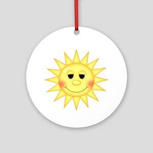 Sunshine Ornament (Round)