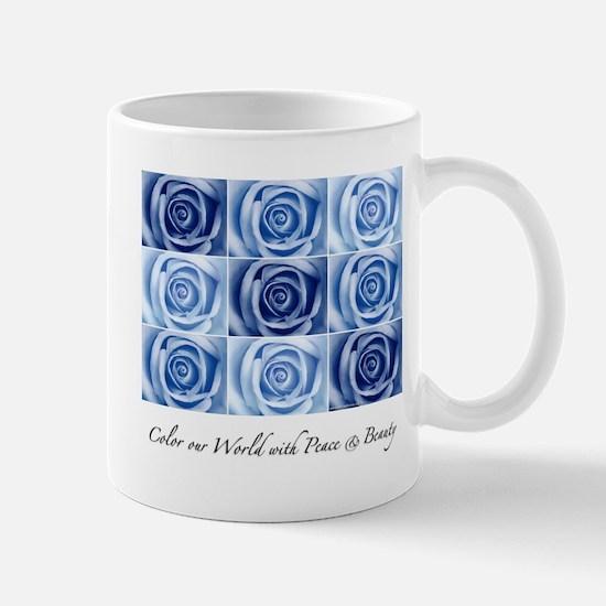 blue roses Mug
