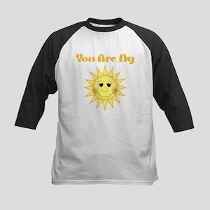 You are My Sunshine Kids Baseball Jersey