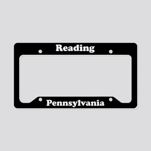 Reading PA License Plate Holder