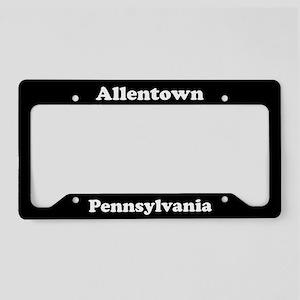 Allentown PA License Plate Holder