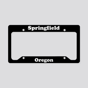 Springfield OR License Plate Holder