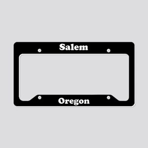 Salem OR License Plate Holder