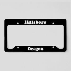 Hillsboro OR License Plate Holder