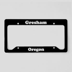 Gresham OR License Plate Holder