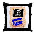Pirate Booty Throw Pillow