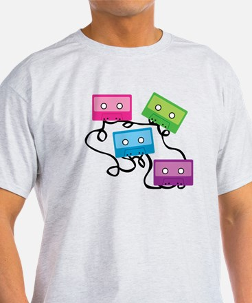 Retro Broken Cassette Tapes T-Shirt