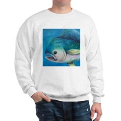 Mahi Mahi coasters and throw Sweatshirt