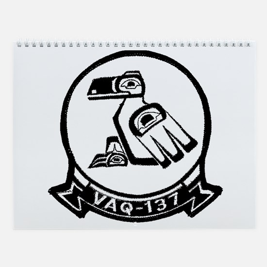 VAQ 137 Rooks Wall Calendar