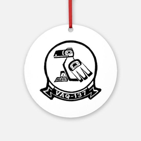 VAQ 137 Rooks Ornament (Round)