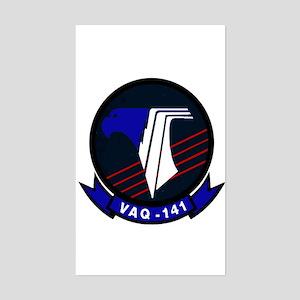 VAQ 141 Shadowhawks Rectangle Sticker