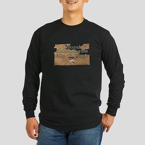 Anthro Voyeur Long Sleeve Dark T-Shirt