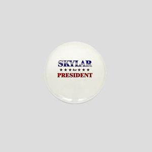 SKYLAR for president Mini Button