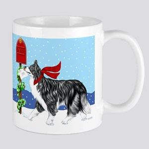 Border Collie Mail Mug