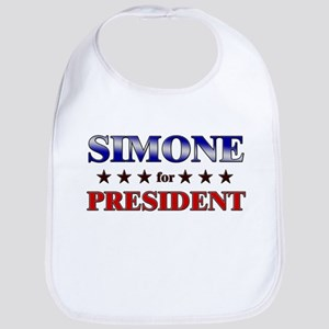 SIMONE for president Bib