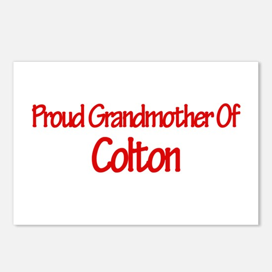 Proud Grandmother of Colton Postcards (Package of