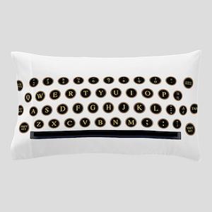 Typewriter Key Layout Pillow Case