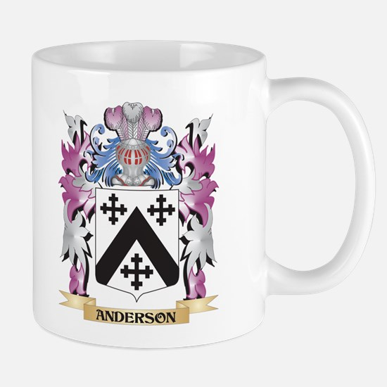 Anderson Coat of Arms (Family Crest) Mugs