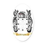 Villegas Oval Car Magnet