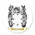 Villegas Round Car Magnet