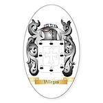 Villegas Sticker (Oval)