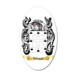 Villegas 35x21 Oval Wall Decal