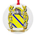 Villavicencio Round Ornament