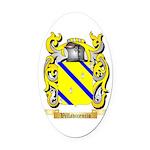Villavicencio Oval Car Magnet