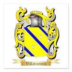 Villavicencio Square Car Magnet 3