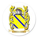 Villavicencio Round Car Magnet