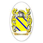 Villavicencio Sticker (Oval 50 pk)