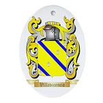 Villavicencio Oval Ornament